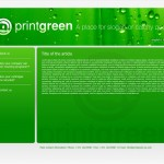 printgreen web